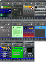 all plugins currently available in LMMS