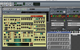 LMMS with two VST instruments